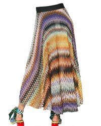 Missoni | Multicolor Zig Zap Print Maxi Skirt | Lyst