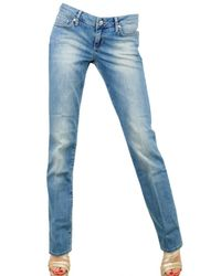 7 For All Mankind - Blue Madonna Stretch Denim Jeans - Lyst