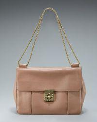Chloé - Natural Elsie Shoulder Bag  - Lyst