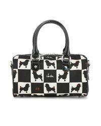 Lulu Guinness - Black Small Poodle Print Zoe - Lyst