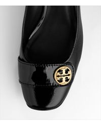 Tory Burch - Black Ashlee Square Toe Pump - Lyst