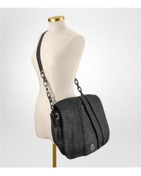 Tory Burch | Black Washed Leather Kiliaen Messenger | Lyst