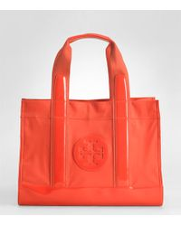 Tory Burch - Red Nylon Tory Tote - Lyst