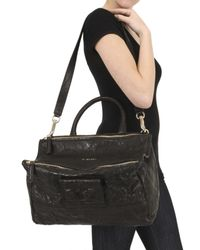 Givenchy - Black Pandora Medium Texture Washed Top Handle - Lyst