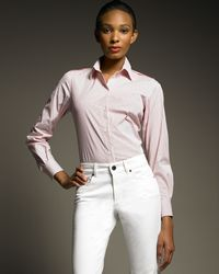 Loro Piana | Pink Karlie Stretch Blouse | Lyst