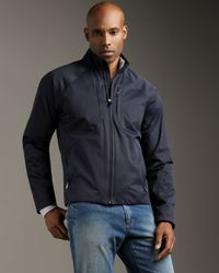 Zegna Sport | Blue Ecotene Jacket for Men | Lyst
