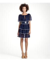 Tory Burch | Blue Quinn Dress | Lyst