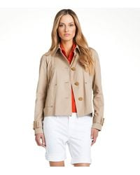 Tory Burch | Natural Curtis Jacket | Lyst
