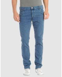 Wrangler | Blue Boyton Mid Wash Tapered Jeans for Men | Lyst