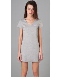 Calvin Klein | Gray Ck One Nightdress | Lyst