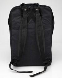 Fjallraven - Black Kanken 17 Laptop Bag - Lyst