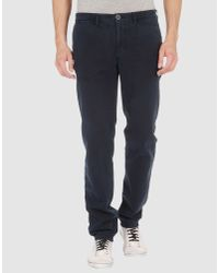 Incotex - Blue Casual Pants for Men - Lyst