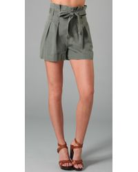 Marc By Marc Jacobs | Green High Waisted Short | Lyst