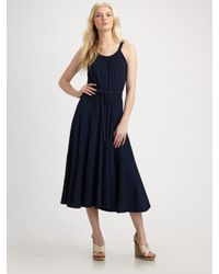 Marc By Marc Jacobs | Blue Indigo Knit Dress | Lyst