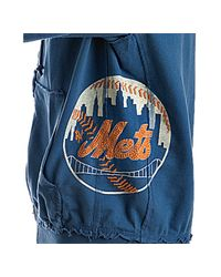 Red Jacket | Royal Blue Jersey Mets Zip Front Hoodie for Men | Lyst
