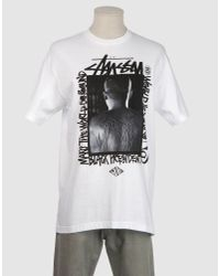 Stussy - White Deadly Masters T-shirt for Men - Lyst
