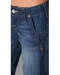 True Religion - Blue Sammy Trouser Flare Jeans - Lyst