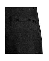 BCBGMAXAZRIA | Black Camilla Flat Front Flare Leg Trousers | Lyst