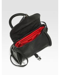 Christian Louboutin | Black Miss Rope Capra Top Handle Bag | Lyst