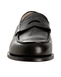 Church's | Black Leather Bristol Penny Loafers for Men | Lyst