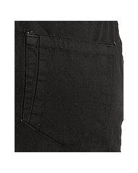 DIESEL | Black Cotton Twill Opam Mini Skirt | Lyst