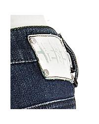 DIESEL - Dark Blue Stretch Ryoth-n Bootcut Jeans - Lyst