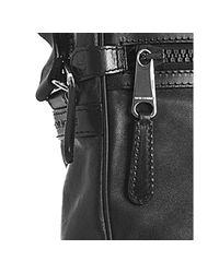 Dior   Black Leather Pocket Detail Messenger Bag for Men   Lyst