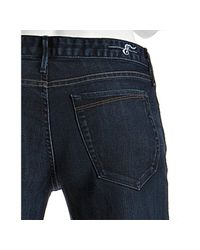 Earnest Sewn - Blue Dark Wash Stretch Grace Flare Leg Jeans - Lyst