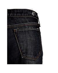 Earnest Sewn - Black Maz Dark Crosshatched Keaton Bootcut Jeans - Lyst
