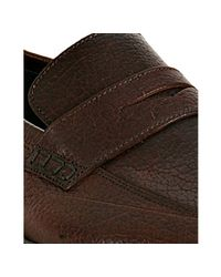 Harry's Of London | Brown Tobacco Kudu Leather Downing Penny Loafers for Men | Lyst