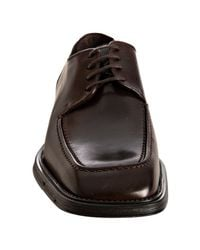 Kenneth Cole Reaction - Dark Brown Leather Smooth Talker Oxfords for Men - Lyst