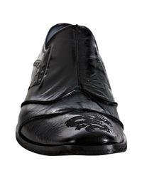 Mark Nason | Black Rock Lives Studded Leather Seamed Geddes Loafers for Men | Lyst