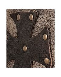 Mark Nason - Rock Lives Distressed Brown Leather Biarritz Studded Boots for Men - Lyst