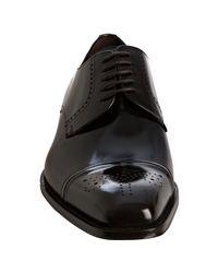 Mezlan - Brown Leather Duke Wingtip Oxfords for Men - Lyst