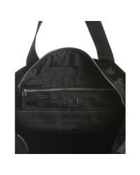 Prada - Black Nylon Tote Bag for Men - Lyst
