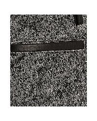 Proenza Schouler | Black Tweed Linen-wool Tailored Shorts | Lyst