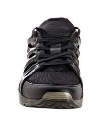 PUMA | Amq For Black Mesh Ribcage Sneakers for Men | Lyst