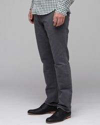 RVCA - Gray Demon Flap Pocket Pant for Men - Lyst
