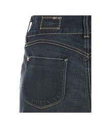Siwy - Blue Wonder Crosshatched Isabella Straight Leg Jeans - Lyst