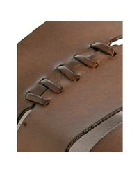 To Boot | Brown Sienna Whipstitched Leather Port Slide Sandals for Men | Lyst