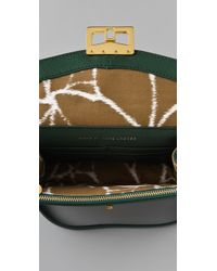 Marc By Marc Jacobs   Green Bianca Jane On A Chain Messenger Clutch   Lyst