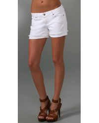 PAIGE | White Jimmy Jimmy Short | Lyst