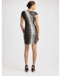 Helmut Lang | Black Frequency Print Dress | Lyst