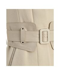 Mackage | Off White Wool-cashmere Julia Belted Coat | Lyst