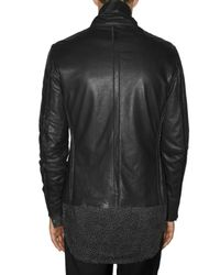 Paul Smith | Black Soft Nappa Leather Jacket for Men | Lyst