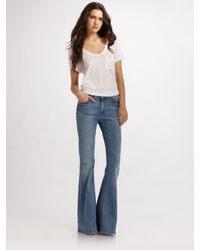 7 For All Mankind | Blue A Pocket Jeans | Lyst