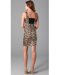 Alice + Olivia - Multicolor Nicola Leopard-print Dress - Lyst