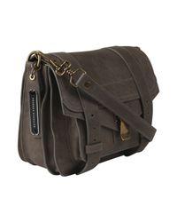 Proenza Schouler - Gray Light Grey Ps1 Pouch Bag - Lyst