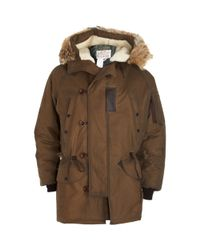Spiewak | Brown Snorkel Parka for Men | Lyst