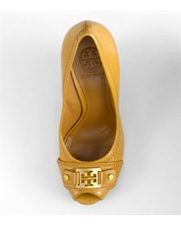 Tory Burch | Brown Carnell Wedge | Lyst